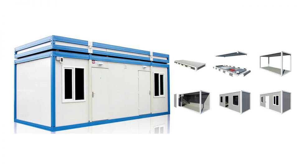Diisassembled and Monoblock Containers