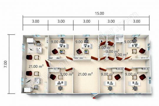 BKO 105 m<sup>2</sup>