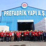 Prefabrik Yapı Employees Receive Plaques