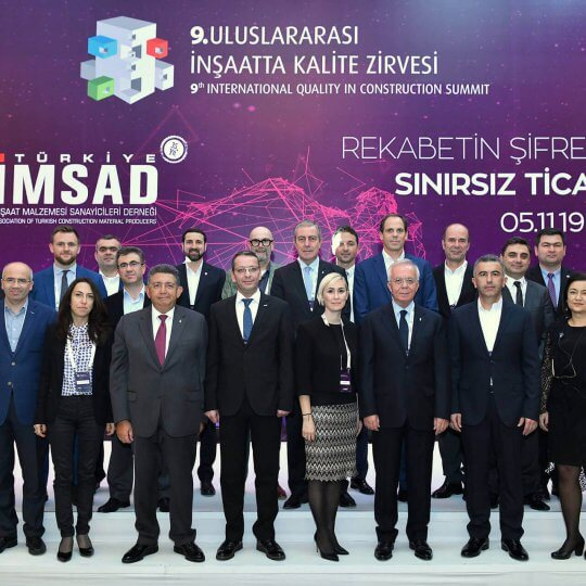 Prefabrik Yapı Attended 9th International Construction Quality Summit