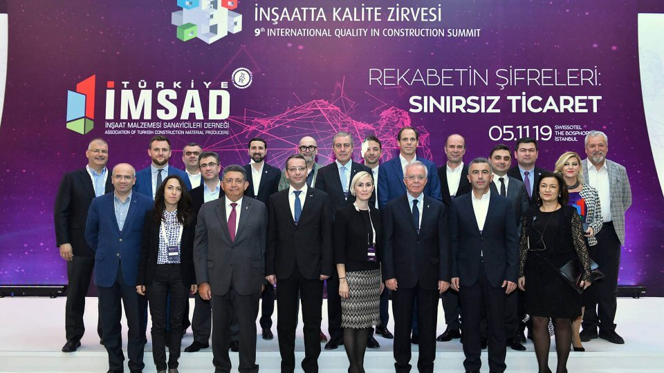 Prefabrik Yapı Attended 9th International Construction Quality Summit